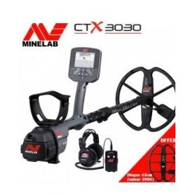 Détecteur de métaux Minelab CTX 3030