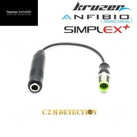 adaptateur casque filaire 6.5 mm Anfibio / Kruzer / Gold Kruzer/Simplex