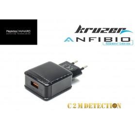 chargeur secteur/USB  Kruzer et Anfibio / data pour Kruzer et Anfibio