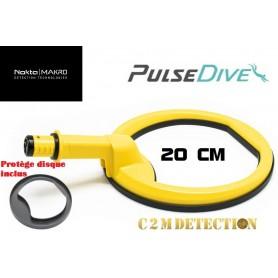 tête aquatique pulsedive jaune 20 cm