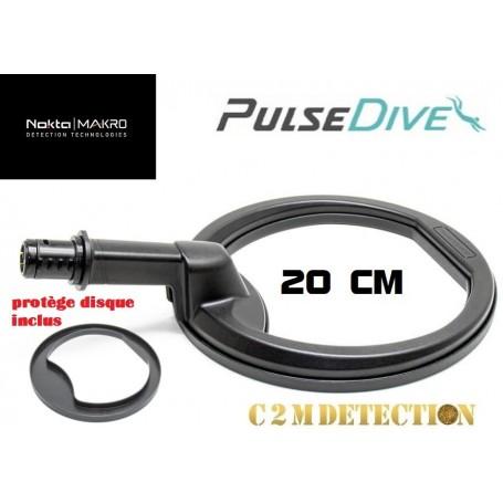 sonde aquatique Nokta Makro pulsedive noire 20 cm