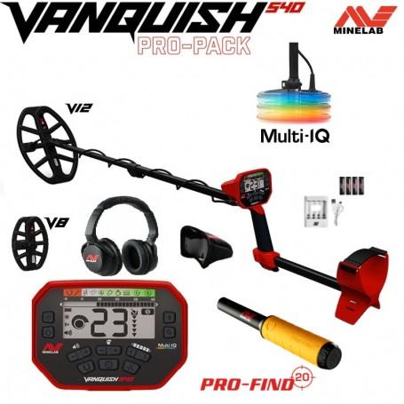 MINELAB VANQUISH 540 PACK PRO